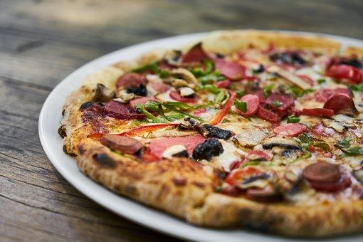 Pizza, Dough, Cheese, Restaurant, Italian, Nutrition