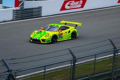 Porsche 911 Gt3 R, Porsche, 911, 24h Race Nürburgring