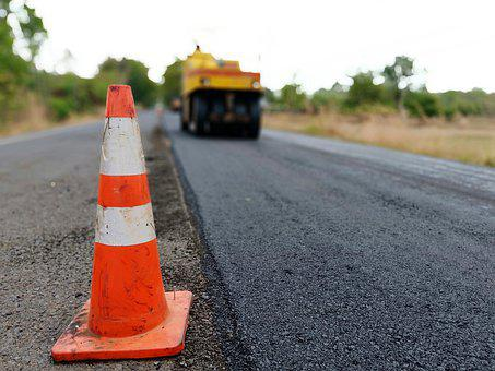 Construction, Road, Asphalt, Work, Transportation