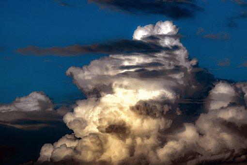 Clouds, Cumulus, Spectacular, Atmosphere, Nature