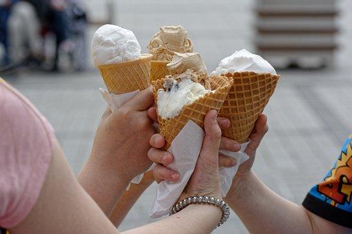 Ice Cream, Sweets, Dessert, Eating, Ice, Summer, Sweet
