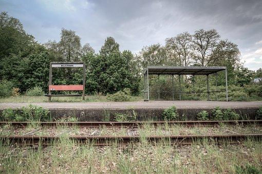 Tracks, Abandoned, Old, Train, Railway, Track, Rails