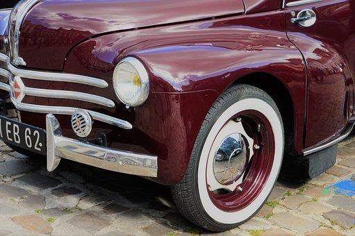 Renault, 4 Cv, Car, Automobile, Vehicle, Vintage, Auto