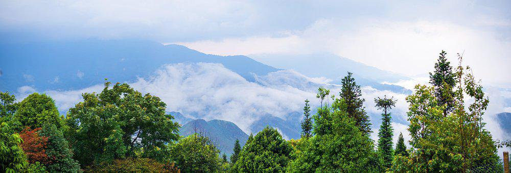 Hill, Taxua, Bacyen, Mountain, Vietnam, Asia, Sunlight