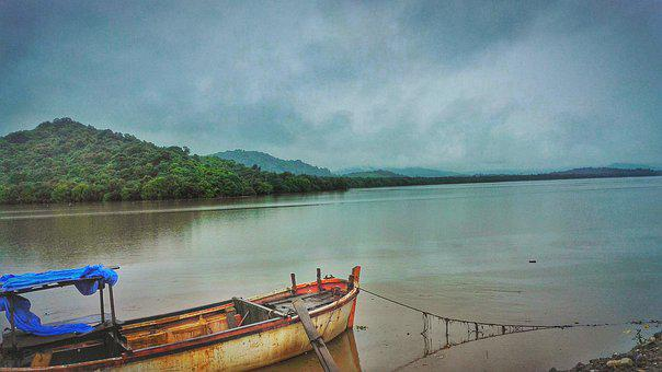 Nature, Creek, Boat, Stream, Landscape, Water, River