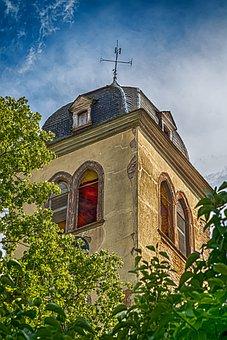 Steeple, Monastery, Monastery Church, Ruin, Boppard