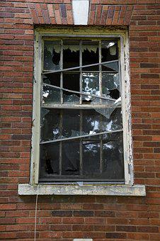 Abandoned, Antique, Building, Broken, Glass, Window