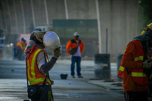 Highway Road Construction, Worker, Construction