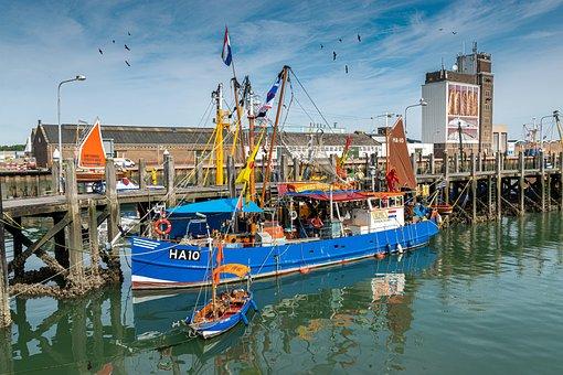 Fishing Vessel, Port, North Sea, Fishing Boat, Fishing