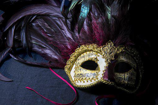 Mask, Venice, Carnival, Object, Costume, Mysterious