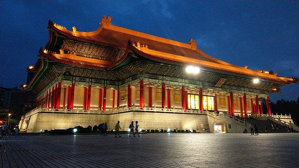 Taipei, National Theater, Chiang Kai-shek Memorial Hall