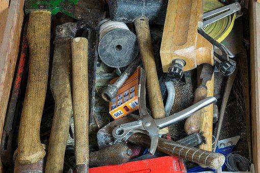 Tool, Hammer, Axe, Planer, Pliers, Workshop Craft