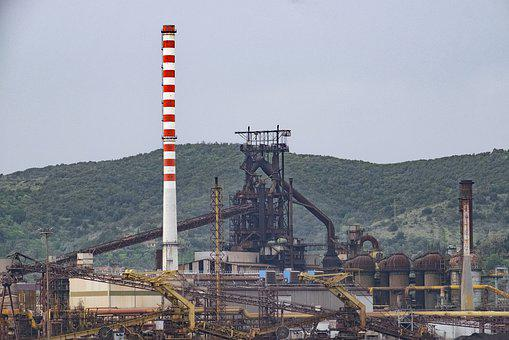 Pollution, Centrale, Industry, Factory, Energy