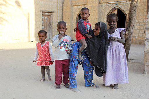 Children, Africa, Child, Poverty, African, Black, Young