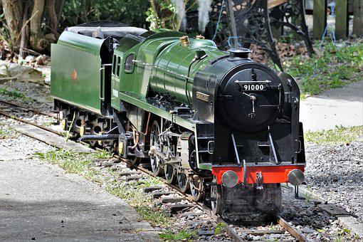 Steam, Engine, Miniature, Railway, Locomotive