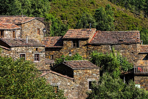 Schist Village, Shale, Typical, Traditional, Rustic