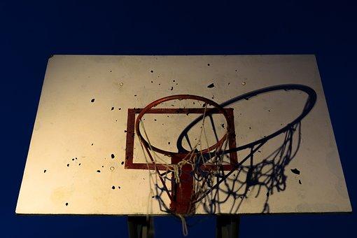 Basketball, Basket, Sh, Sport, Game, Ball, Backboard