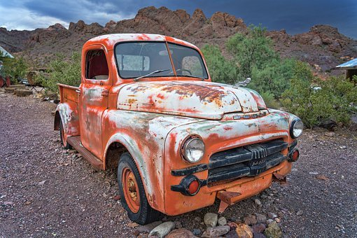 Oldtimer, Dodge, Auto, Retro, Vehicle, Rust, Old