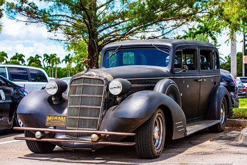 Cadillac, 1934 Caddy, Classic Car, Antique Auto