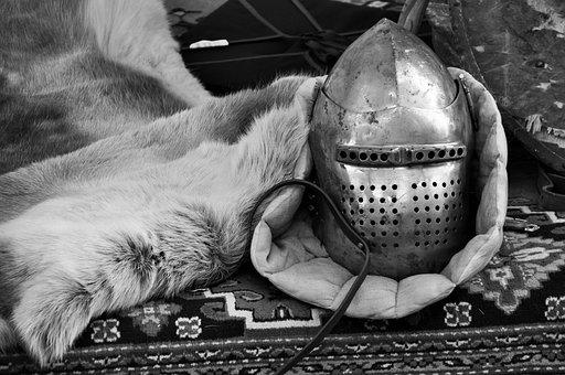 Helmet, Helm, Medieval Helmet, Knight, Armor, War