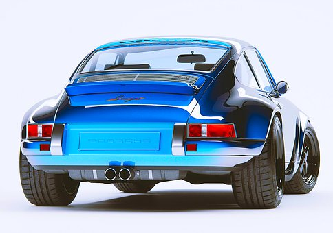 Porsche, Drive, Auto, Sport, Modern, Wheel