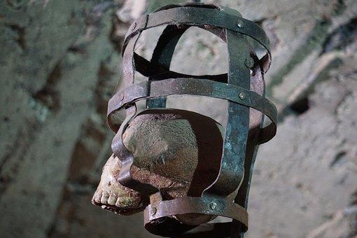 Skeleton, Cage, Structure, Bone, Building, Art
