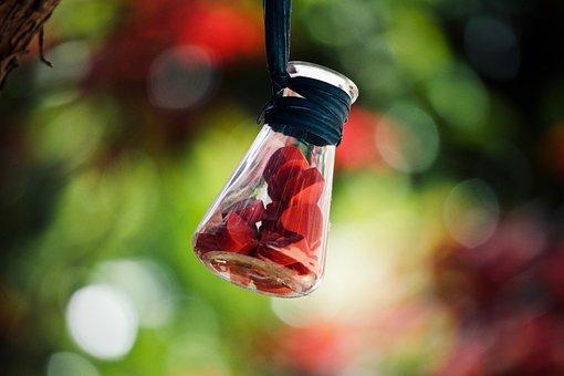 Hearts, Love, Glass, Romantic, Symbol, Colorful