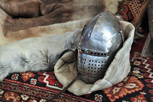Helmet, Helm, Medieval Helmet, Knight, Armor, Medieval