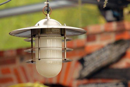 Truss, Lamp, Old, Building, Lighting, Light