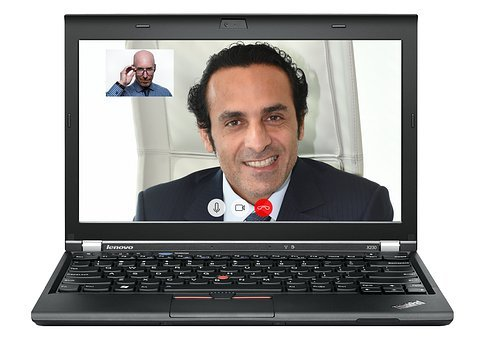 Video, Conference, Business, Meeting, Skype