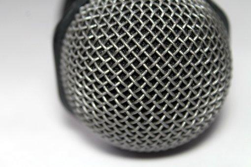 Surface, Metal, Weaving, Net, Microphone, Technique