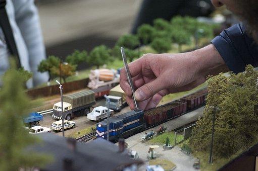 Model Train, Model Railway, Model, Railway, Train