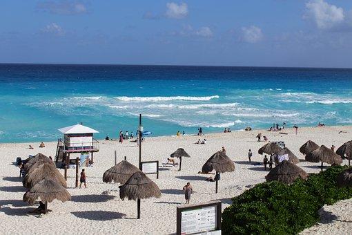Beach, Blue, Ocean, Sea, Water, Coast, Sand, Summer