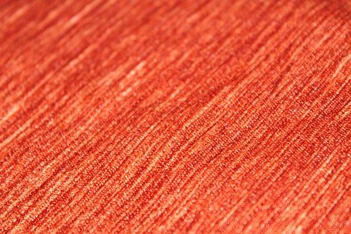 Fabric, Orange, Bright, Design, Texture, Textile