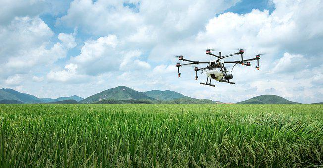 Dji, Farming, Agriculture, Uav, Plant Protection Drone