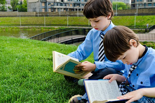 Read, Books, Lawn, Park, Learn, Study, Reading, Baby