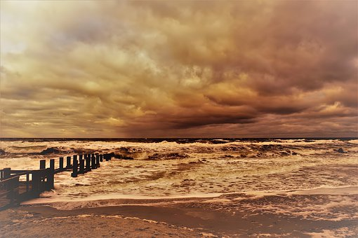 Beach, Nature, Sea, Water, Sand, Ocean, Summer