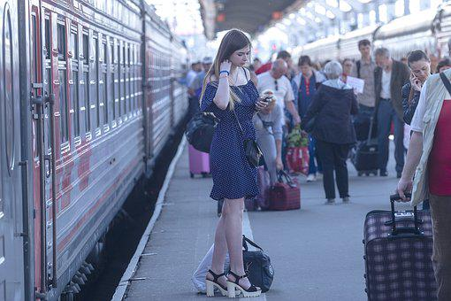 Girl, Stand By, Station, Youth, Beauty, Tenderness
