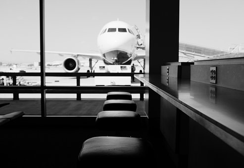 Airport, Airplane, Aircraft, Travel, Trip, Journey