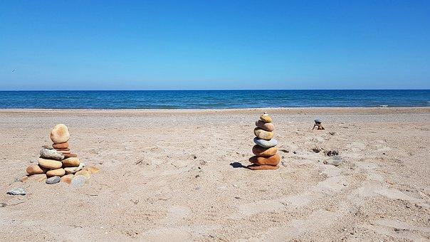 Beach, Valencia, Sea, Costa, Sand, Sun, Nature