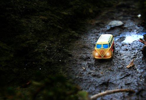 Vans, Travel, Volkswagen, Car, Vehicle, Holiday