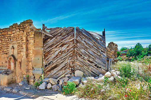 Door, Old, Architecture, Input, Wood, Texture, Facade