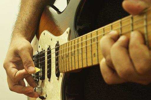 Guitar, Music, Instrument, Musician, Guitarist, Art