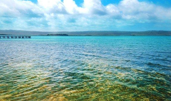 Beach, Landscape, Spring, Jetty, Holiday, Ocean, Sea