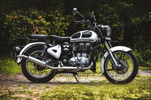 Bullet Ride, Bike, Bullet, Motorcycle, Enfield, Classic