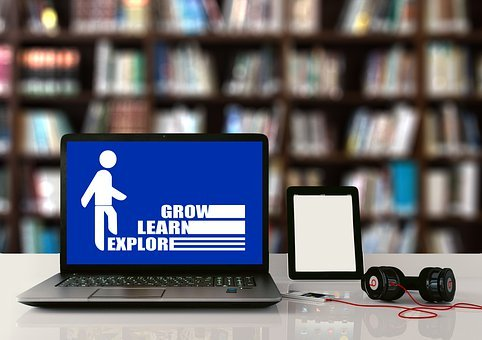 Learn, Growth, Education, Books, Book, Library, Laptop