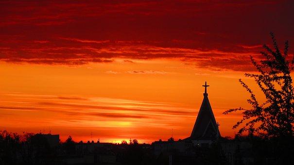 Sunrise, Dawn, Landscape, Sky, Nature, In The Morning