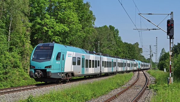 Euro Rail, Electrical Multiple Unit, Turquoise, New