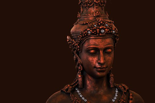 Buddha, Diamonds, Religion, Believe, Facets, Sparkle