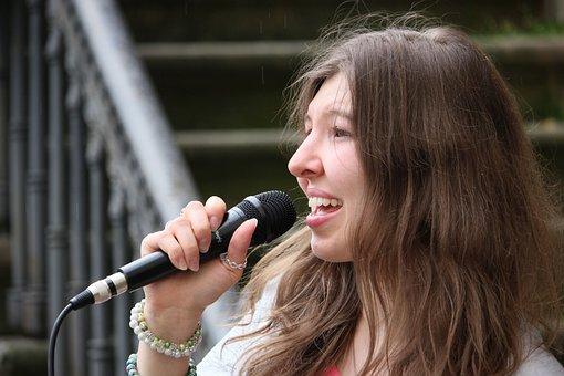 Singer, Singing, Live Music, Musician, Pop Singer